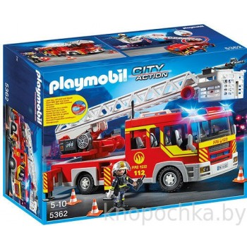 Пожарная машина с лестницей со светом и звуком Playmobil 5362
