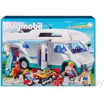 Аквапарк: Семейный автомобиль - дом на колесах Playmobil 6671