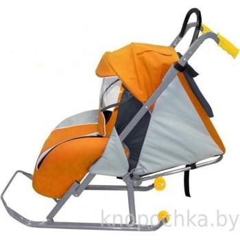 Санки-коляска складные Ника Детям 2 с положением для сна