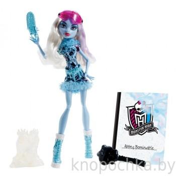 Кукла Monster High Эбби Боминейбл Арт класс (дефект упаковки)