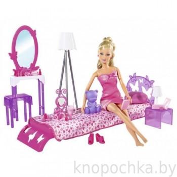 Кукла Штеффи в спальной комнате Simba