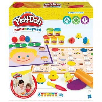 Набор Play Doh Буквы и Языки C3581