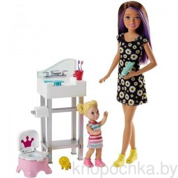 Набор Barbie Няня FJB01