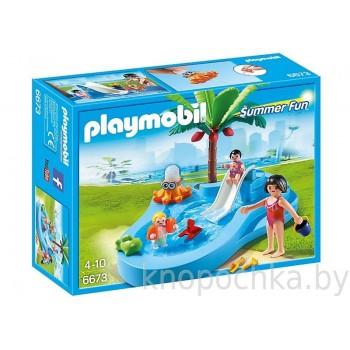 Playmobil 6673 Аквапарк: Детский бассейн с горкой