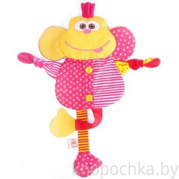 Игрушка грелка с вишневыми косточками Мартышка