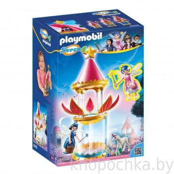 Playmobil 6688 Super 4: Музыкальная цветочная башня с Твинкл
