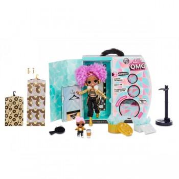 Кукла Lol OMG Winter Disco 2 волна 24K D.J. и кукла D.J.