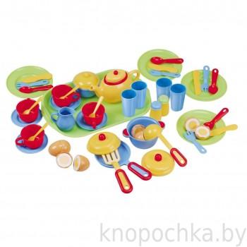 Чайный набор посуды PlayGo 3126 (46 предметов)