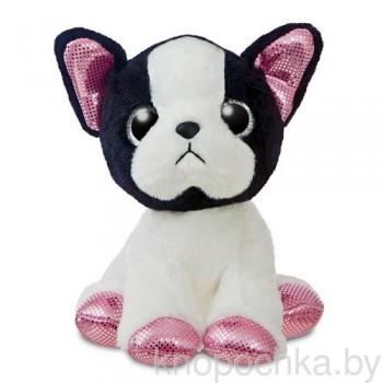 Мягкая игрушка Aurora Собачка Французский бульдог, 18 см