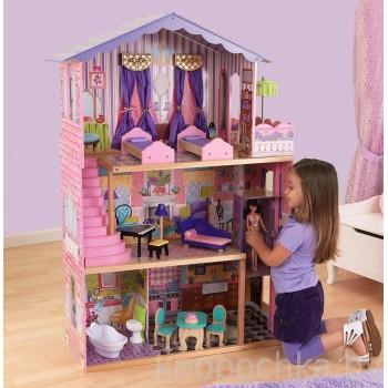 Кукольный домик с мебелью Особняк мечты Kidkraft