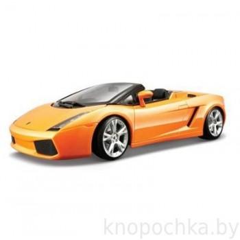 Машина Lamborghini Gallardo Gold Bburago 1:18
