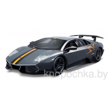 Коллекционная машинка Lamborghini Murcielago LP 670-4 SV Bburago 1:24