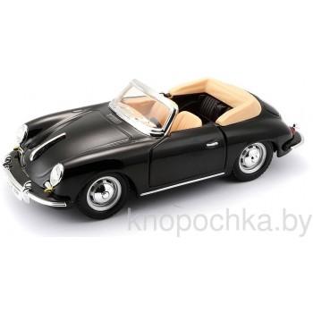Коллекционная машинка Porsche 356B Cabriolet (1961) Bburago 1:24