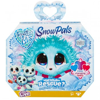 Пушистик-потеряшка Scruff-A-Luvs Snow Pals