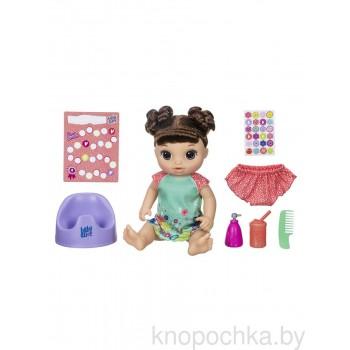 Кукла Baby Alive Танцующая малышка (шатенка)