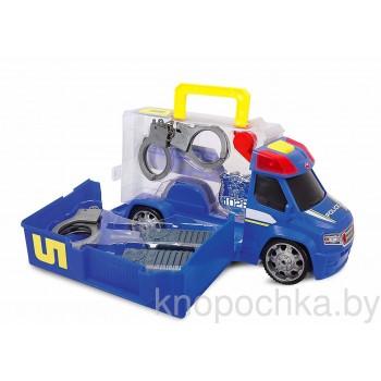 Полицейская машина с аксессуарами Dickie (свет, звук)