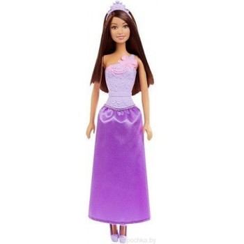 Кукла Барби Принцесса в сиреневом DMM08 GGJ95