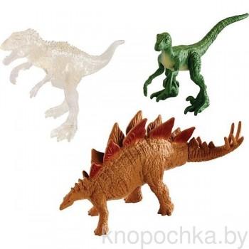 Набор из трех фигурок мини-динозавров Jurassic World Mattel