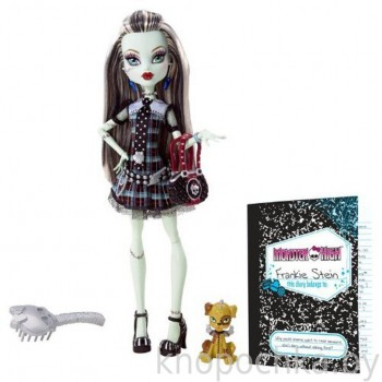 Кукла Monster High Фрэнки Штейн базовая с питомцем