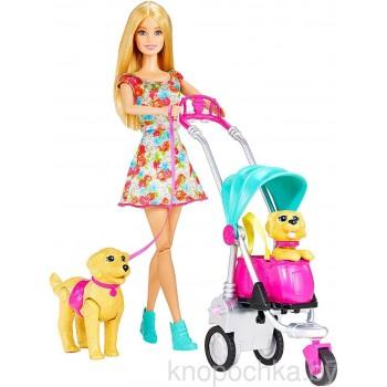 Набор Barbie Прогулка со щенкамиCNB21