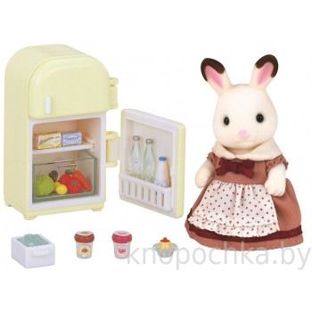Мама Кролик и холодильник Sylvanian Families 5014
