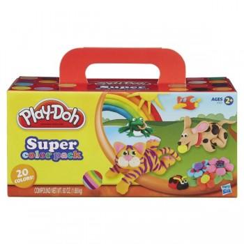 Набор пластилина Play Doh из 20 баночек A7924