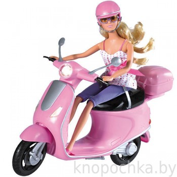 Кукла Штеффи на скутере Simba