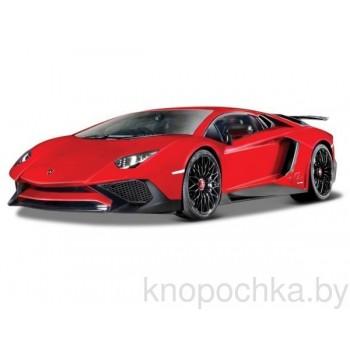 Коллекционная машинка Lamborghini Aventador LP 750-4 SV 1:24 Bburago 18-21079