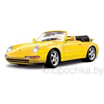 Сборная модель Bburago Porsche 911 Carrera cabriolet 1:18