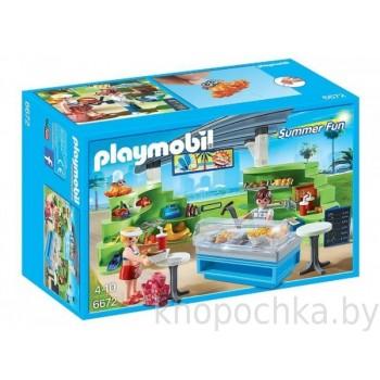Playmobil 6672 Аквапарк: Магазин летних товаров с закусочной