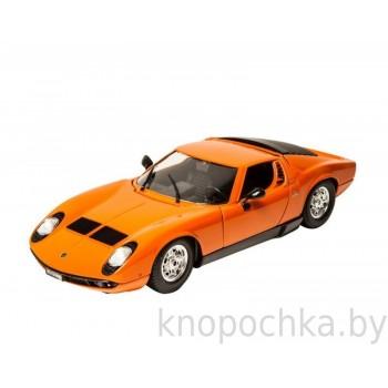 Модель автомобиля Lamborghini Miura 1:18