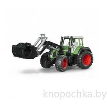 Игрушка Брудер Трактор Fendt Favorit 926 Vario с погрузчиком Bruder 02062