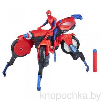 Транспортное средство Человека-паука 3-в-1 и фигурка 15 см