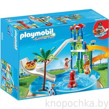 Аквапарк: Башня с горками Playmobil 6669