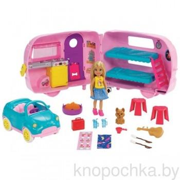 Набор Barbie Челси и Дом на колесах FXG90