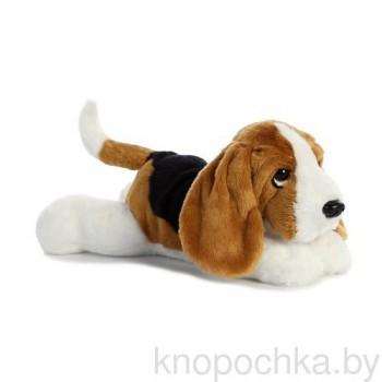 Мягкая игрушка Aurora Собака Бассет-хаунд, 30 см