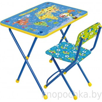 Детский столик и стульчик Ника КП2/10 Познаем мир