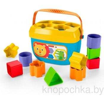 Сортер Fisher Price Первые кубики малыша FFC84