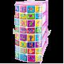 Комод детский пластиковый Алфавит ЭльфПласт