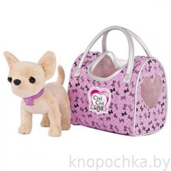 Собачка Chi Chi Love Вояж с сумочкой, 20 см