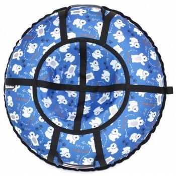 Тюбинг Hubster Люкс Pro Мишки синие (100см)