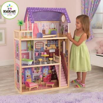 Кукольный домик для Барби с мебелью Кайла Kidkraft