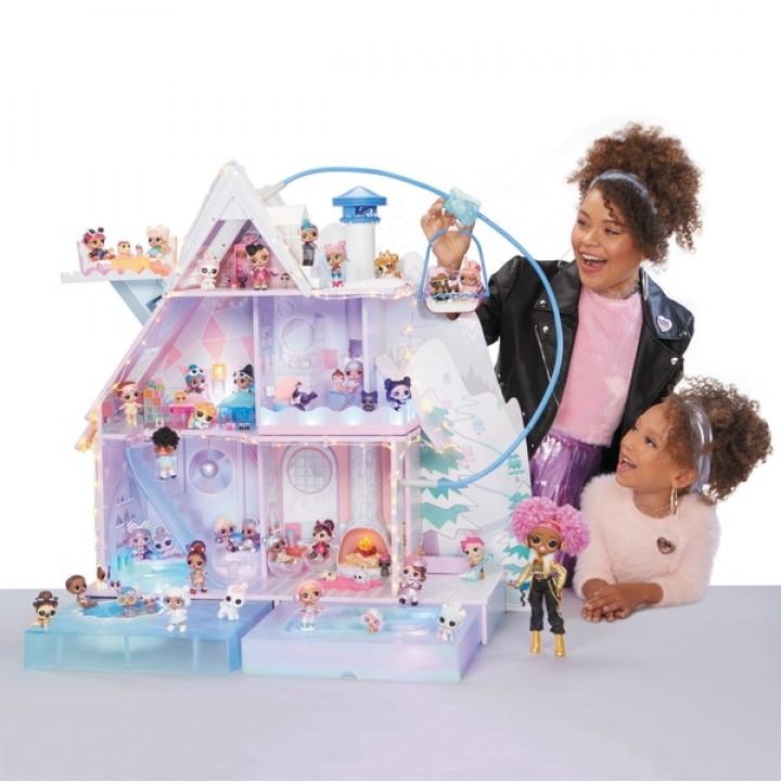 Зимний дом шале для кукол Лол - Lol Chalet Winter Disco