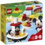 Lego Duplo 10881 Катер Микки
