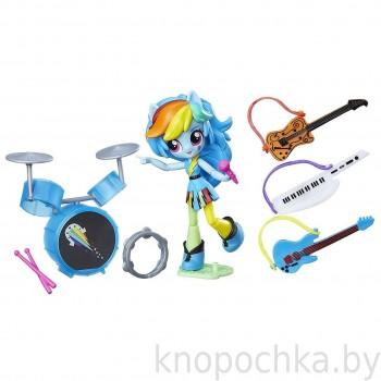 Мини-кукла Рейнбоу Дэш Музыкальный класс Equestria Girls