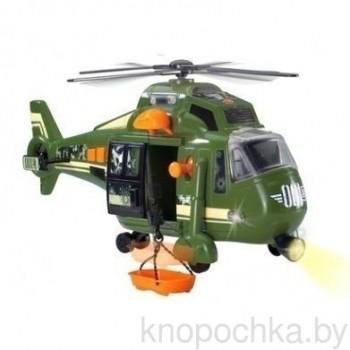 Военный вертолет с лебедкой, 41 см (свет, звук)