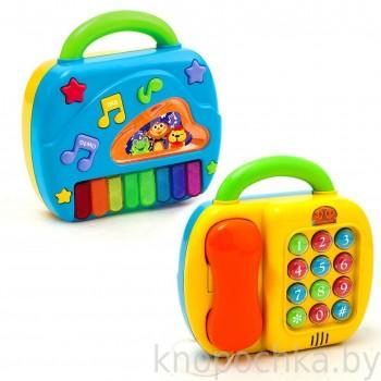Двусторонняя музыкальная игрушка
