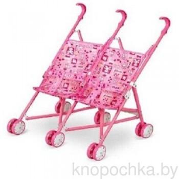 Кукольная коляска для двойни