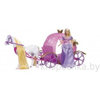 Кукла Штеффи в карете Simba