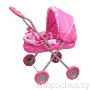 Коляска для кукол Gulliver 22-13098 (розовая)